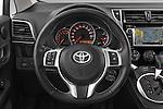 Car pictures of steering wheel view of a 2015 Toyota Verso-S skyview 5 Door Hatchback 2WD Steering Wheel