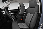 Front seat view of a 2018 Toyota Tundra TRD Sport Crew Cab 4 Door Pick Up front seat car photos