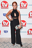 Amy Leigh Hickman<br /> at the TV Choice Awards 2018, Dorchester Hotel, London<br /> <br /> ©Ash Knotek  D3428  10/09/2018