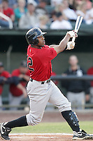 August 14, 2009: Kyle Colligan of the Great Falls Voyagers. The Voyagers are Pioneer League affiliate for the Chicago White Sox. Photo by: Chris Proctor/Four Seam Images