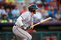 Richmond Flying Squirrels designated hitter Chris Shaw (43) at bat during a game against the Erie SeaWolves on August 22, 2016 at Jerry Uht Park in Erie, Pennsylvania.  Erie defeated Richmond 4-2.  (Mike Janes/Four Seam Images)
