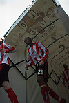 Lincoln City 0 Grimsby Town 1, 13/05/2006. Sincil Bank, League Two Play-Offs Semi-final 1st leg. Photo by Paul Thompson. Lincoln City 0 Grimsby Town 1, 13/05/2006. Sincil Bank, League Two Play-Offs Semi-final 1st leg. Grimsby won the second leg 2-1, but lost the play off final 0-1 to Cheltenham Town. Manager Keith Alexander left Lincoln in 2006, and died in 2010 aged 53. Photo by Paul Thompson.