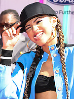 LOS ANGELES, CA, USA - JUNE 29: Actress Zendaya arrives at the 2014 BET Awards held at Nokia Theatre L.A. Live on June 29, 2014 in Los Angeles, California, United States. (Photo by Xavier Collin/Celebrity Monitor)