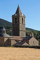 Europe/France/Languedoc-Roussillon/66/Pyrénées-Orientales/<br /> Cerdagne/Err:  L'église Saint-Génis  XIIéme  siecle.
