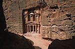 . EL Kaznah from the top/ Middle East. Jordan. Petra