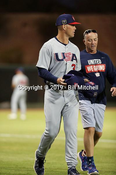 Clayton Richard - USA Baseball Premier 12 Team - October 25- 28, 2019 (Bill Mitchell)