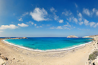 Fragolimnionas beach in Karpathos, Greece