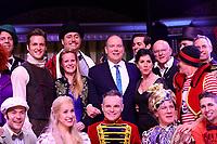 Fürst Albert von Monaco, Rolf Knie und Alexander Klaws / Knie - Das Circus Musical
