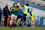 Dara Moynihan, Kerry in action against James McCarthy, Dublin during the Allianz Football League Division 1 South between Kerry and Dublin at Semple Stadium, Thurles on Sunday.