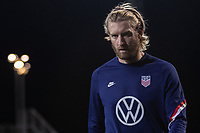 WIENER NEUSTADT, AUSTRIA - : Tim Ream, of the United States warms up during a game between  at Stadion Wiener Neustadt on ,  in Wiener Neustadt, Austria.