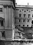 United States Capitol bomb exploded on the ground floor March 1 1971 by Three Leftist domestic terrorist group the Weather Underground they placed the bomb as a demonstration against U.S. involvement in Laos,