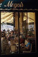 """Europe/France/Ile-de-France/75006/Paris: """"Les Deux Magots"""" boulevard Saint-Germain // Europe / France / Ile-de-France / 75006 / Paris: """"Les Deux Magots"""" boulevard Saint-Germain"""