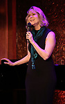"Rebecca Luker performing a press preview of  ""Got Rhythm""  at Feinsteins/54 Below on February 21, 2019 in New York City."