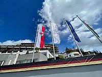 Luxushoten Nidum in Mösern ist das Mannschaftsquartier der Deutschen Nationalmannschaft zur EM-Vorbereitung - Seefeld 25.05.2021: Trainingslager der Deutschen Nationalmannschaft zur EM-Vorbereitung