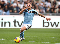 Football, Serie A: S.S. Lazio - Spal, Olympic stadium, Rome, February 2, 2020. <br /> Lazio's captain Ciro Immobile in action during the Italian Serie A football match between S.S. Lazio and Spali at Rome's Olympic stadium, Rome , on February 2, 2020. <br /> UPDATE IMAGES PRESS/Isabella Bonotto