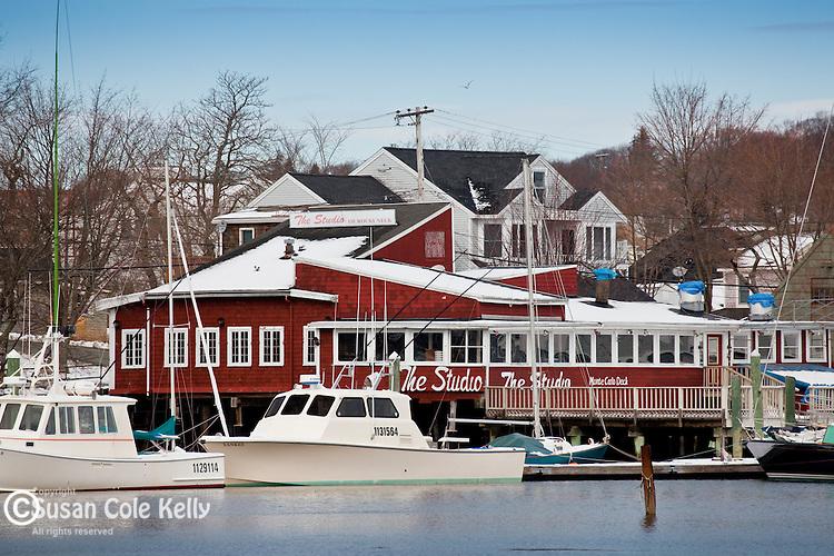 Smiths Cove in Gloucester Harbor, Gloucester, Cape Ann, MA, USA