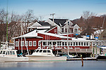 Smiths Cove in Gloucester Harbor, Gloucester, Cape Ann, MA, USA