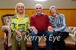 Michael Dillane from Ballinorig, Causeway, celebrating his 80th birthday in the Ballyroe Heights Hotel on Sunday, with his sisters. L to r: Elizabeth and Michael Dillane and Mary Curtin