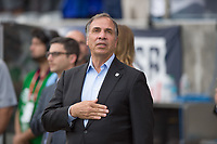 Commerce City, CO - Thursday June 08, 2017: Bruce Arena during a 2018 FIFA World Cup Qualifying Final Round match between the men's national teams of the United States (USA) and Trinidad and Tobago (TRI) at Dick's Sporting Goods Park.