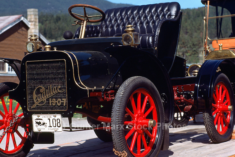 A 1907 Cadillac Vintage Car
