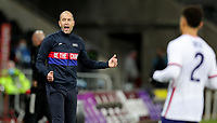 SWANSEA, WALES - NOVEMBER 12: Gregg Berhalter head coach of the United States during a game between Wales and USMNT at Liberty Stadium on November 12, 2020 in Swansea, Wales.