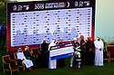 Branden Grace (RSA) during prizegiving after the final round of the Commercial Bank Qatar Masters played at Doha Golf Club, Doha, Qatar. 21-24 January 2015 (Picture Credit / Phil Inglis)