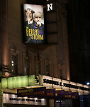 "Broadway Opening Night Theatre Marquee for the MTC  production of  ""The Height Of The Storm"" starring Eileen Atkins and Jonathan Pryce at Samuel J. Friedman Theatre on September 24, 2019 in New York City."
