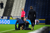 Mike van der Hoorn of Swansea City during the Sky Bet Championship match between Huddersfield Town and Swansea City at The John Smith's Stadium in Huddersfield, England, UK. Tuesday 26 November 2019