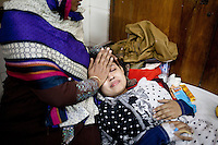 Sharmin Akhtar, 19, a Bangladeshi student of Eden Mohila College, receives treatment at a medical college hospital after being injured in a recent bomb attack during the ongoing nationwide blockade called by the opposition Bangladesh Nationalist Party (BNP), in Dhaka, Bangladesh, Sunday, Jan. 18, 2015.