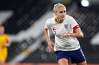 Steph Houghton of England Women during the Women's international friendly match between England Women and Australia at Craven Cottage, London, England on 9 October 2018. Photo by Carlton Myrie / PRiME Media Images.