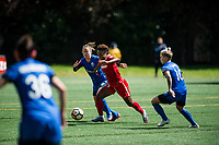 Seattle, WA - Saturday May 13, 2017: Francisca Ordega during a regular season National Women's Soccer League (NWSL) match between the Seattle Reign FC and the Washington Spirit at Memorial Stadium.