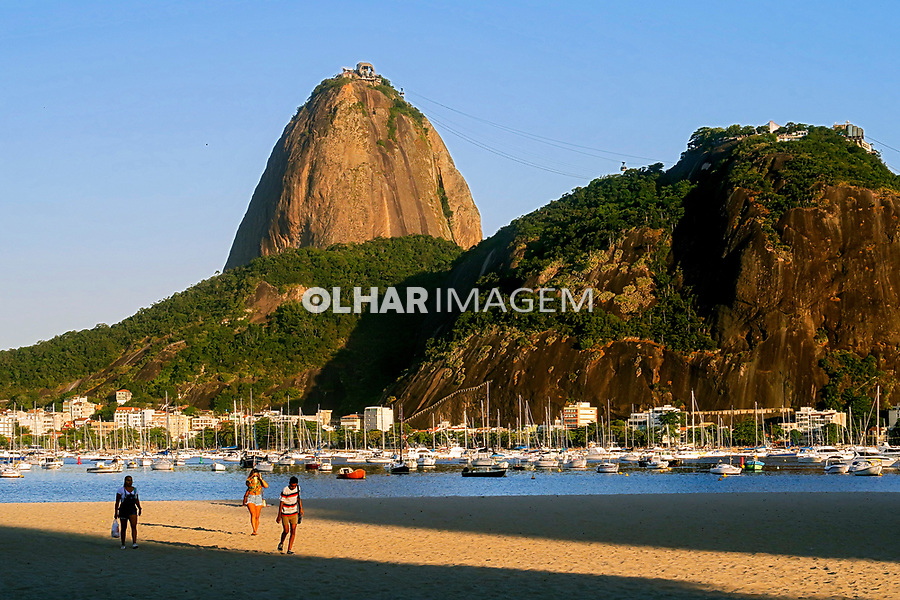Morro do Pao de Açucar e enseada de Botafogo, Rio de Janeiro. 2019. Foto Juca Martins