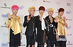 Say Yes, Jun 07, 2014 : K-pop boy band Say Yes pose before the Dream Concert in Seoul, South Korea. (Photo by Lee Jae-Won/AFLO) (SOUTH KOREA)