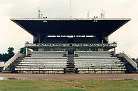 General view of Polytechnic FC, Polytechnic Stadium, Chiswick, London, pictured on 8th May 1990