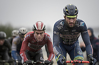 Guillaume van Keirsbulck (BEL/Wanty-Groupe Gobert) on his way to a hard fought win<br /> <br /> GP Le Samyn 2017 (1.1)