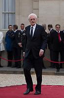 Paris (75)- Palais de l'Elysee- Ceremonie d installation de M. Emmanuel MACRON, PrÈsident de la RÈpublique, le dimanche 14 mai , Lionel Jospin.