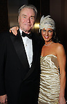 Gordon Bethune and Jessica Rossman at the SPA's Forever Paris Gala at the Wortham Theater Saturday March 29, 2014.(Dave Rossman photo)