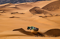 4th January 2021; Dakar Rally stage 2;  355 Saleh Alabdalali (sau), Alnaim Mohammed (sau), Hummer, Saleh, Auto, action during the 2nd stage of the Dakar 2021 between Bisha and Wadi Al Dawasir, in Saudi Arabia on January 4, 2021