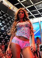 MEDELLêN -COLOMBIA-24-JULIO-2013.   Stand  Tarrao de ropa interior en Colombiamoda . Stand underwear Tarrao Colombiamoda<br /> . Photo: VizzorImage/ Javier Jaramillo  / Stringer
