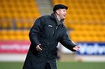St Johnstone v Dunfermline....25.02.12   SPL.Saints boss Steve Lomas.Picture by Graeme Hart..Copyright Perthshire Picture Agency.Tel: 01738 623350  Mobile: 07990 594431