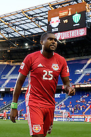 Harrison, NJ - Wednesday Aug. 03, 2016: Chris Duvall during a CONCACAF Champions League match between the New York Red Bulls and Antigua at Red Bull Arena.