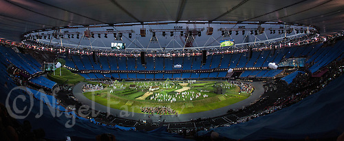 """27 JUL 2012 - LONDON, GBR - The """"Prologue"""" section of the Opening Ceremony of the London 2012 Olympic Games in the Olympic Stadium in the Olympic Park, Stratford, London, Great Britain (PHOTO (C) 2012 NIGEL FARROW)"""