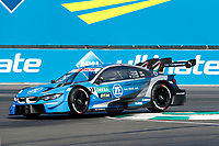 23rd August 2020, Lausitz Circuit, Klettwitz, Brandenburg, Germany. The Deutsche Tourenwagen Masters (DTM) race at Lausitz;  Philipp Eng AUT, BMW Team RBM, BMW M4 DTM over the curbing