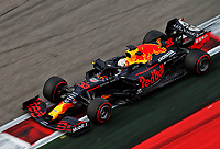 26th September 2020, Sochi, Russia; FIA Formula One Grand Prix of Russia, qualification;  33 Max Verstappen NLD, Aston Martin Red Bull Racing on his way to 2nd on grid