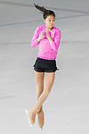 Kelly Elizabeth Supanga of Indonesia warms up during a training section ahead Asian Open Figure Skating Trophy 2017 at Mega Ice on 02 August, 2017 in Hong Kong, China. Photo by Yu Chun Christopher Wong / Power Sport Images