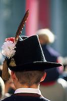 Europe/Autriche/Tyrol/Innsbruck: Festival de musique à vent du Tyrol - Chapeau à plume