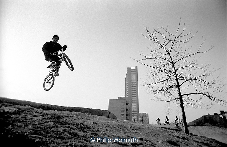 Opening of the new bike trackl at Meanwhile Gardens; 23/2/1983.
