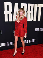 "LOS ANGELES, USA. October 15, 2019: Deborah Gibson at the premiere of ""JoJo Rabbit"" at the Hollywood American Legion.<br /> Picture: Paul Smith/Featureflash"