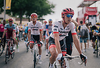 Koen de Kort (NED/Trek-Segafredo) rolling in<br /> <br /> Stage 7: Fougères > Chartres (231km)<br /> <br /> 105th Tour de France 2018<br /> ©kramon