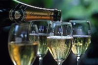 """Europe/France/Champagne-Ardenne/51/Marne/Reims: Relais et château """"Les Crayères"""" - Service d'un champagne"""